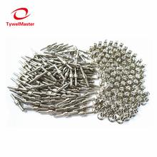 200pcs Plasma Cutting Torch Consumable Cutting Extended Long Plasma Cutter Kit 40A PT31 Plasma Torch Tip Electrode Nozzle