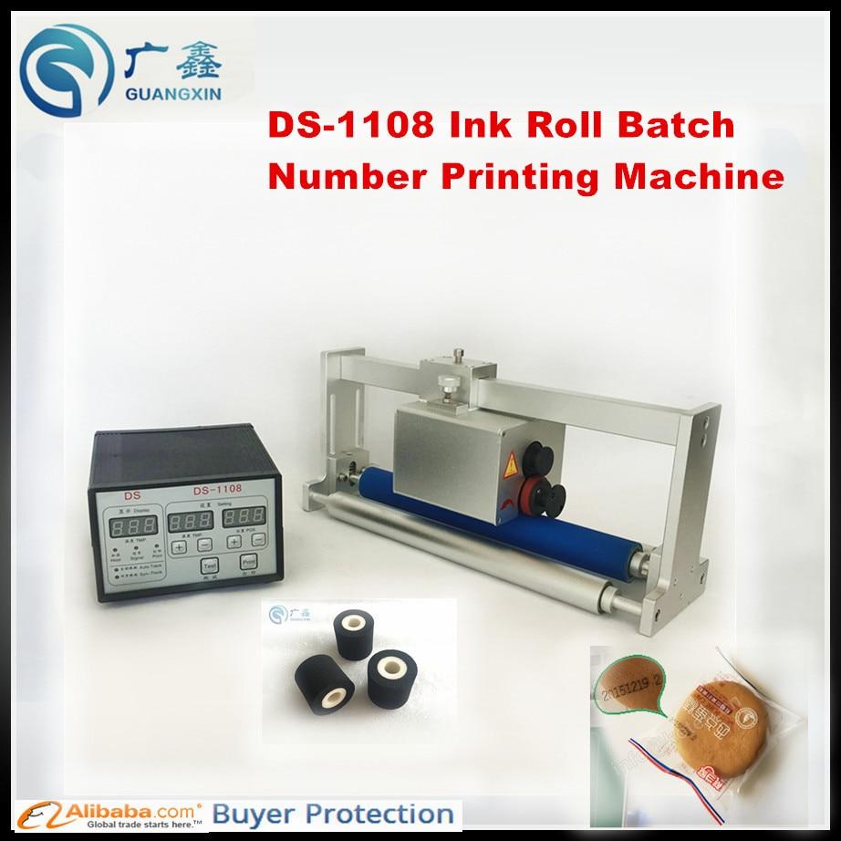 Печатная машина кодер принтер кодирования DS 1108 для машина для  кодирования чернил Срок годности партии печатная машина купить на AliExpress