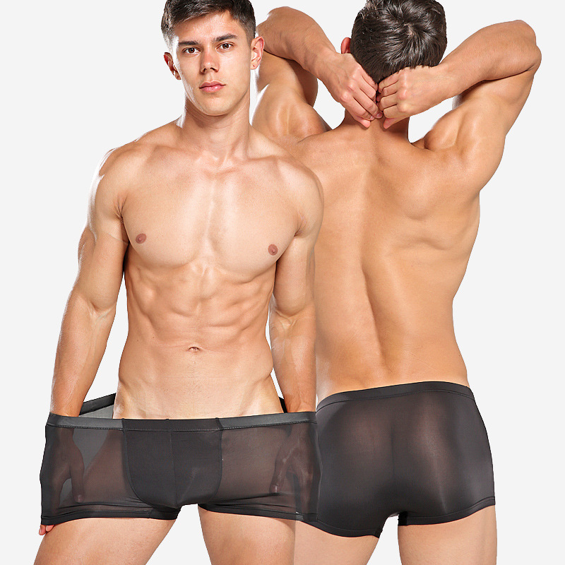 Male Underwear Panties Men Boxer Sexy XXXL Men's New for Man Cuecas Soft-Tight