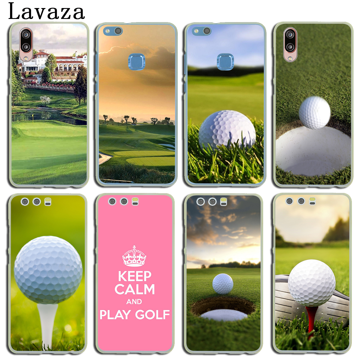 Lavaza Golf Sports Hard Phone Cover Case for Huawei P20 P10 P9 Plus P8 Lite Mini 2015 2016 2017 P smart Mate 9 10 Lite Pro
