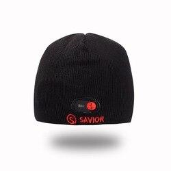 Zbawiciela nowych mężczyzn i kobiet ciepłe ciepła czapka sportowe na świeżym powietrzu jazda na nartach czapka grzewcza z włókna węglowego złagodzić ból głowy