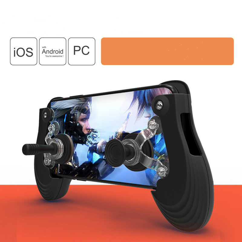 Mobile Game Joystick Physical Fling Joystick Touch Screen Rocker Smart Phone Gamepad For Android iPhone Phone pads games