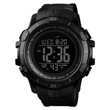 Time Secret sports fashion multi-function luminous waterproof mens watch outdoor leisure large dial student digital