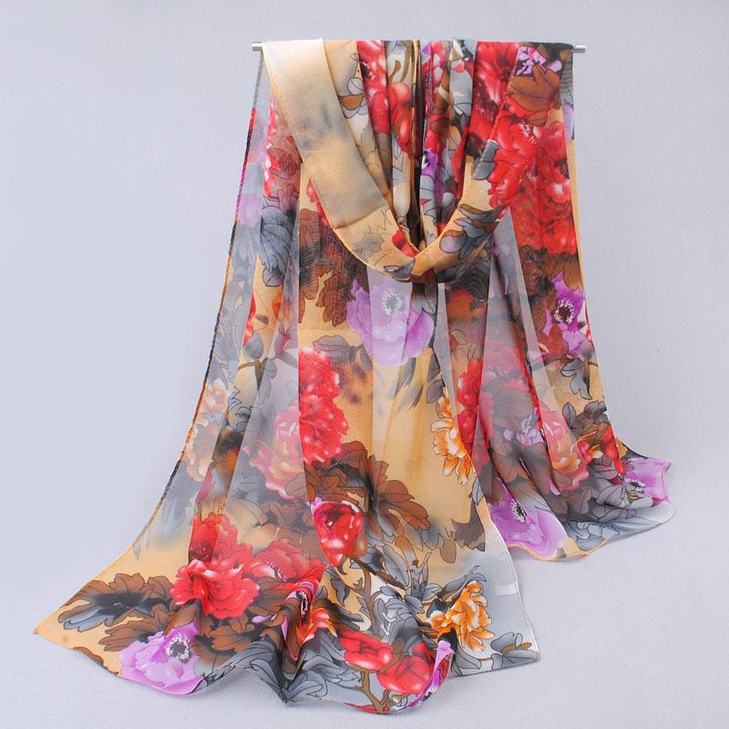 from india hot sale 2019 new women for 4 seasons   scarves   polka velvet chiffon bohemia flower fashion summer drop shipping mdh