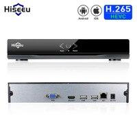 Hiseeu DVR 4CH H 264 VGA HDMI CCTV NVR P2P Metal Case NVR 1920 1080P ONVIF