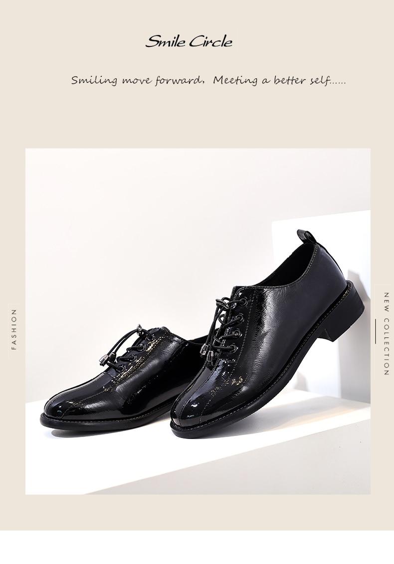 3cbe3fda Compre Sonrisa Círculo Zapatos Para Mujer Moda Casual Pisos De ...