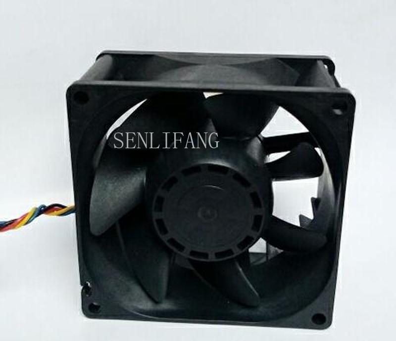 Free Shipping For SANYO 9G0812P1F03 DC 12V 0.58A 80x80x38mm 4-Wire Server Square Fan