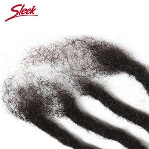 Image 5 - Sleek DreadLock Mongolian Hair Extension Crochet Braids 12 20 Inches 20 strands/lot 100% Remy Human Brading Hair Bundles