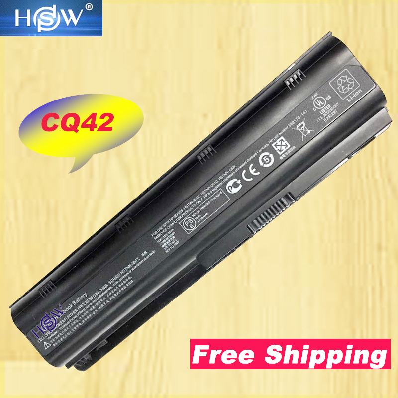 5200mAh Nytt Laptop Batteri För HP 430 431 435 630 631 635 636 650 655 Notebook PC Envy 15-1100 G32 G42 G72 G56 G62 DM4 Batteri