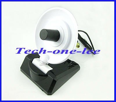 2.4GHz 8dbi wifi antenna high gain wireless directional dish antenna with RP SMA male plug connector free shipping