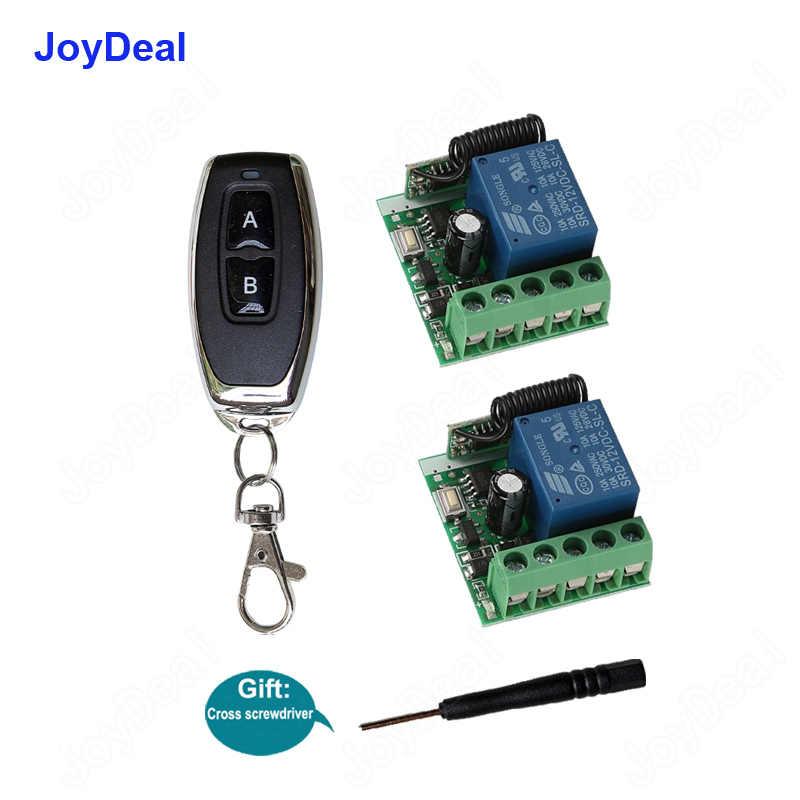 433 Mhz universel DC 12 V 10A 1CH sans fil RF télécommande commutateur récepteur Module et émetteur RF contrôle de verrouillage électronique bricolage