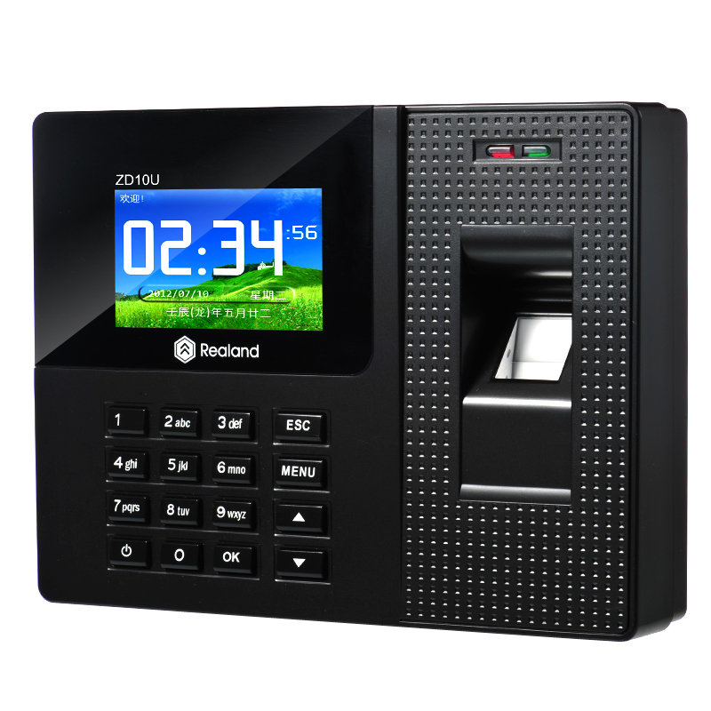 Free Shipping A-C011 TCP/IP Biometric Time Recorder with Software and SDK USB Download Fingerprint Time Clock software selection for a liner shipping company