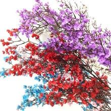 10pcs Artificial Gypsophila Flower Silk Branches Long Stem 105cm for Wedding Home Decorative Flowers