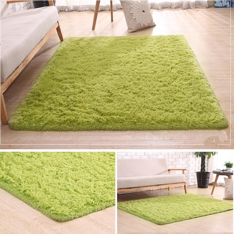 Free Shipping 800mmx1500mmx45mm Super Soft  Grass Green Color Carpet/Floor Rug/ Living Room Carpet