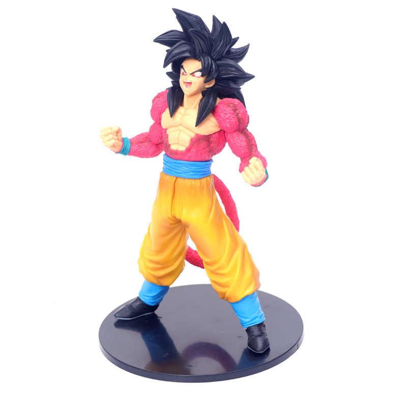 23.5 CENTÍMETROS Bola Dragão Sangue de Super Saiyan Goku Estatueta Bonecas Brinquedos PVC Action Figure Model Collection Toy H740