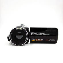2016 New Digital Camera Full HD 1080P 16x Zoom Recorder Camcorder Mini 3'' Touch DV DVR 24MP Video Camera