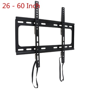 Image 1 - Universal 45KG 1.5mm Cold Ligation Board TV Wall Mount Bracket Flat Panel TV Frame for 26   60 Inch LCD LED Monitor Flat Pan