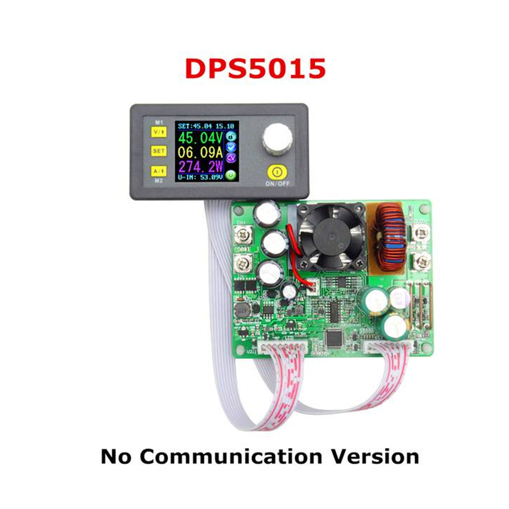 DPS5015 50V 15A Constant Voltage Current Step-down Power Supply Module Buck Voltage Converter LCD Voltmeter dps5015 constant voltage current step down programmable digital power supply buck voltage converter color lcd voltmeter 15a