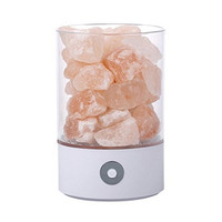 HZFCEW Touch Dimming RGBW Himalayan LED Crystal Salt Lamp Air Purification Night Light Romantic Decoration Atmosphere USB lamp