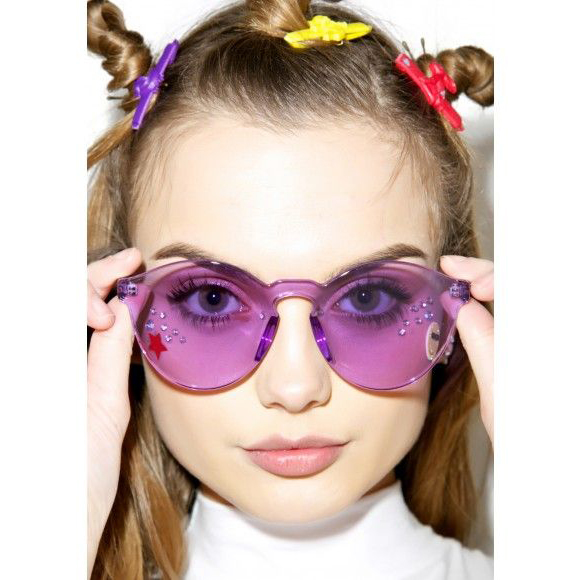 Classic Transparent Sunglasses Women Men Candy Brand Designer Stylish - Apparel Accessories - Photo 5
