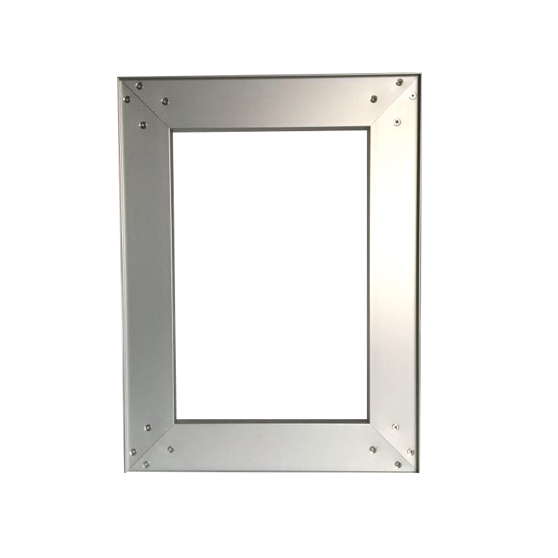 Frameless Aluminum Door Frames For Kitchen Cabinet Door, Assembled Door Available