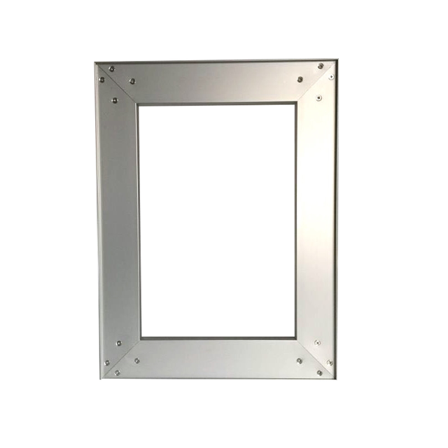 US $6 74 |Frameless aluminum door frames for kitchen cabinet door,  assembled door available-in Furniture Accessories from Furniture on  Aliexpress com