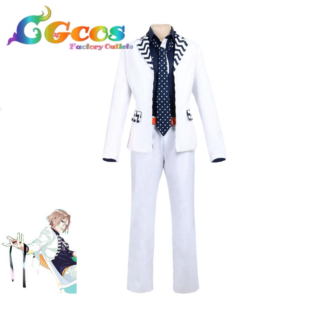 Free Shipping COS Cosplay Costume A3! AUTUMN Banri Settu Halloween Christmas Uniform Halloween Custom made