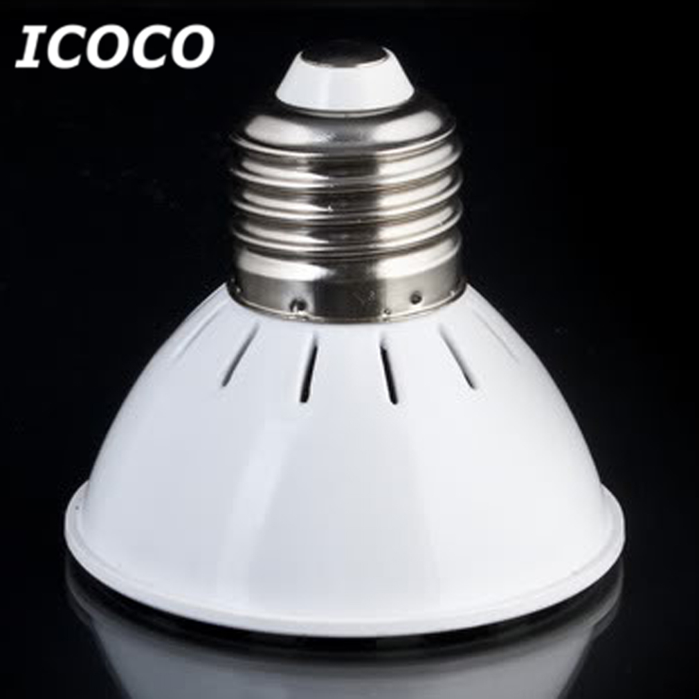 ICOCO 110V 7W P20 LED Light Bulb 36 LED Lamp Warm White E27 Replaceable Bulb Head Flash Deal Promotion Sale
