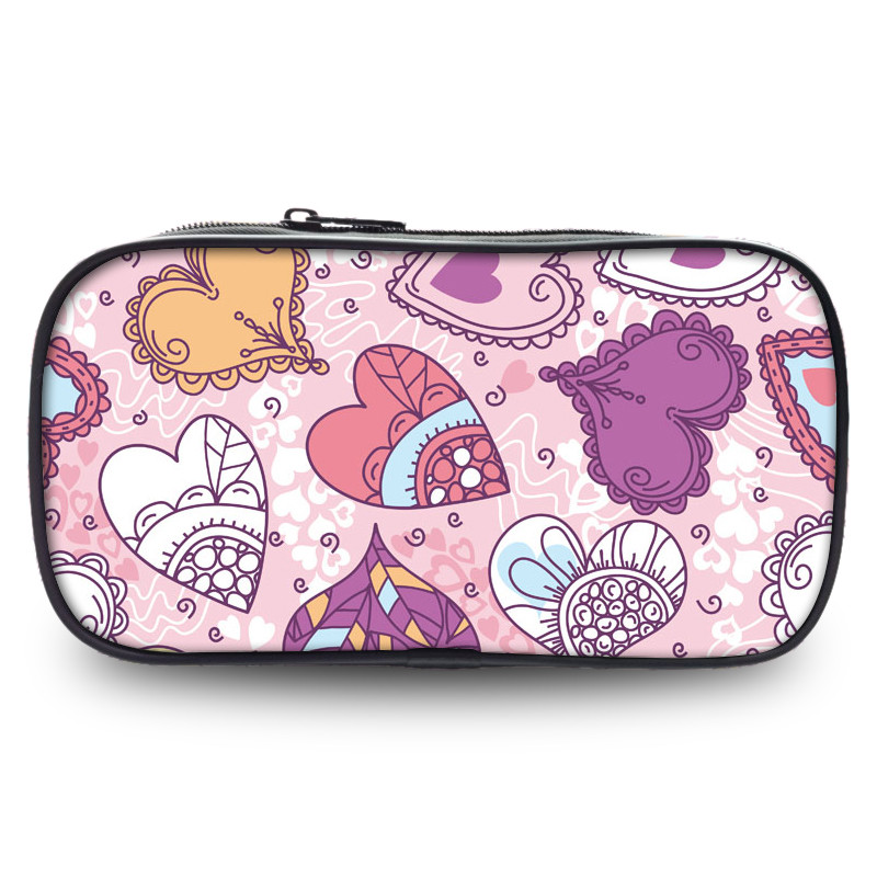New Fashion Lovely Pen Printing Case Box Young Forever Stage Fans Study Box For School Students Pencil Casual Make Up Coin Bags