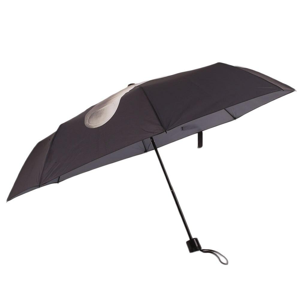 Creative erect Middle <font><b>Finger</b></font> Folding Umbrella Foldable Waterproof Gift New