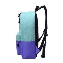 1-22 простой клапан плеча из искусственной кожи сумки Для женщин девочек Однотонная одежда мини сумка почтальона сумка через плечо