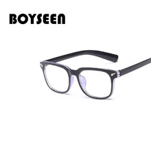 Fashion Eyeglasses Women Men Spectacles Anti Computer Radiation Eyewear Plain Re