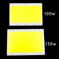 150W 100W Led Cob Chip DC30 33V Led Bulb SMD White 6500K DIY Outdoor FloodLight Spotlight