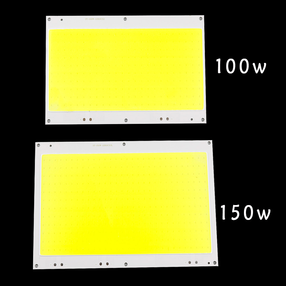 150W 100W Led Cob Chip DC30-33V Led Bulb SMD White 6500K DIY Outdoor FloodLight Spotlight Light Project Lighting Led Exterieur