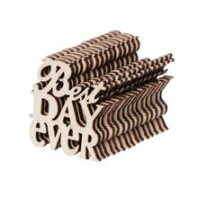 15Pcs Wooden Best Day Ever Table Confetti Scatter Vintage Rustic Wedding Party Decor Craft Scrapbook Decorations