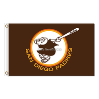San Diego Padres Flag World Series Champions Baseball Fans Team Flags Banner 90x150cm Banners