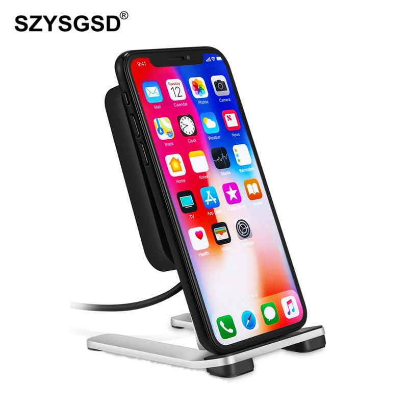 Travel Wireless Charger Stand QI Quick Charger for iPhone
