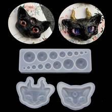 Мультяшная силиконовая форма «кошачий глаз» прозрачный комплект