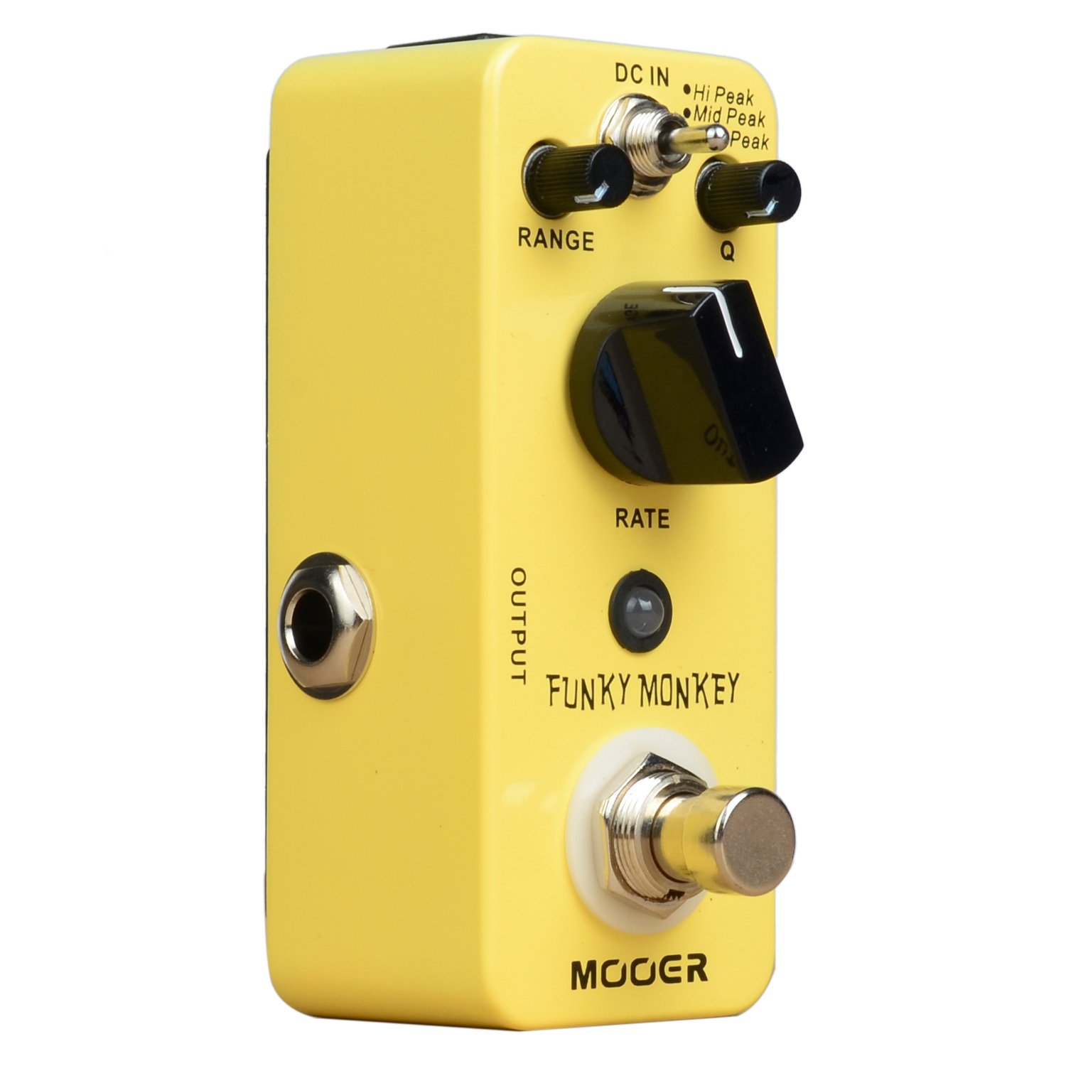 MOOER Funky Monkey Auto Wah Electirc Guitar Effect Pedal Mini Effects True Bypass valeton katfish guitar effect auto wah pedal highly accurate pristine tone true bypass caw 1