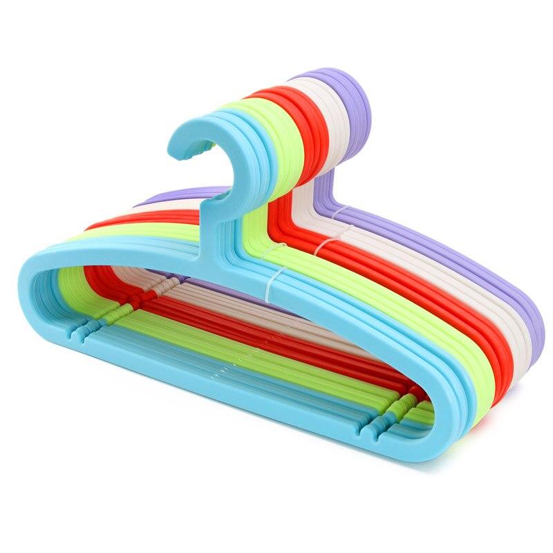 5 pcs Creative Magic Plastic Clothes Hanger Slip Hanger Racks Wet Dry Hangers