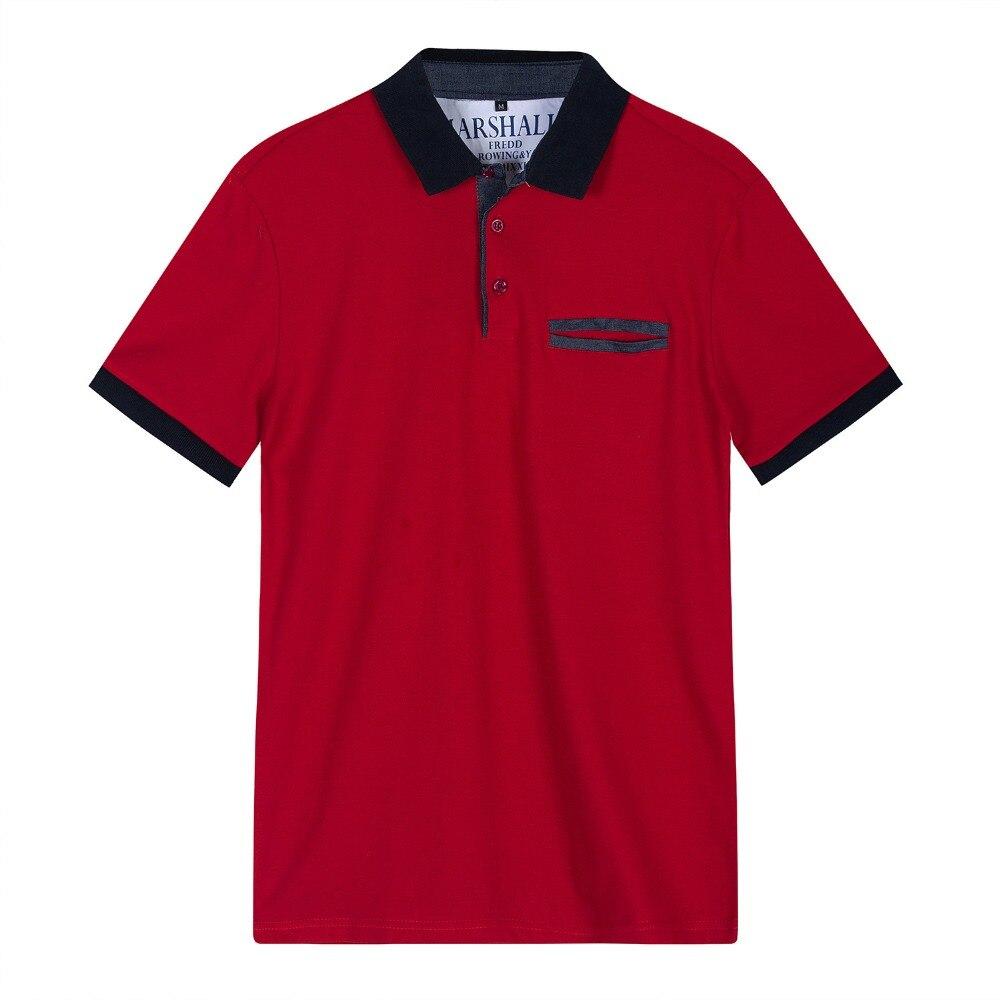 Men Short Sleeve   POLO   Shirts Men's Brand Men short-sleeved   polo   shirt business men camisa   polo   masculina   polos