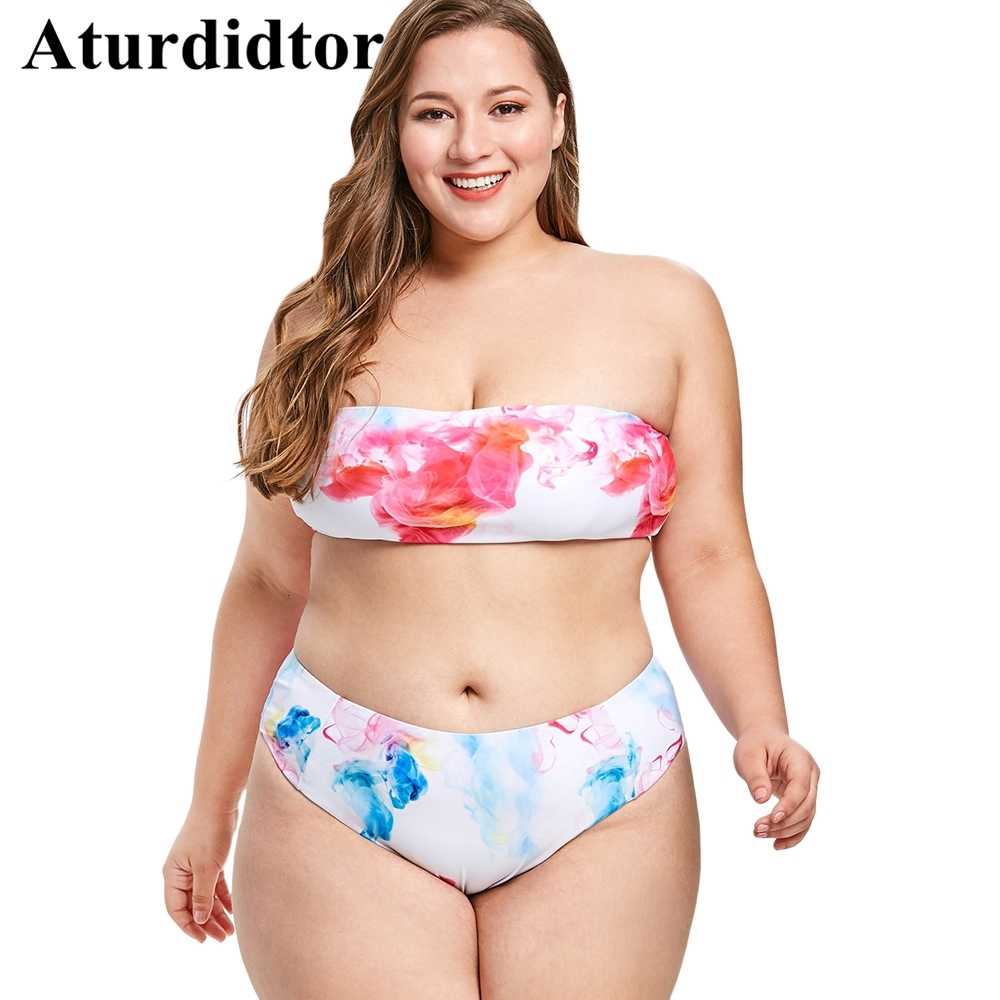 40cca4e845 Detail feedback questions about plus size colored smoke bandeau jpg  1000x1000 Plus size bandeau bikini