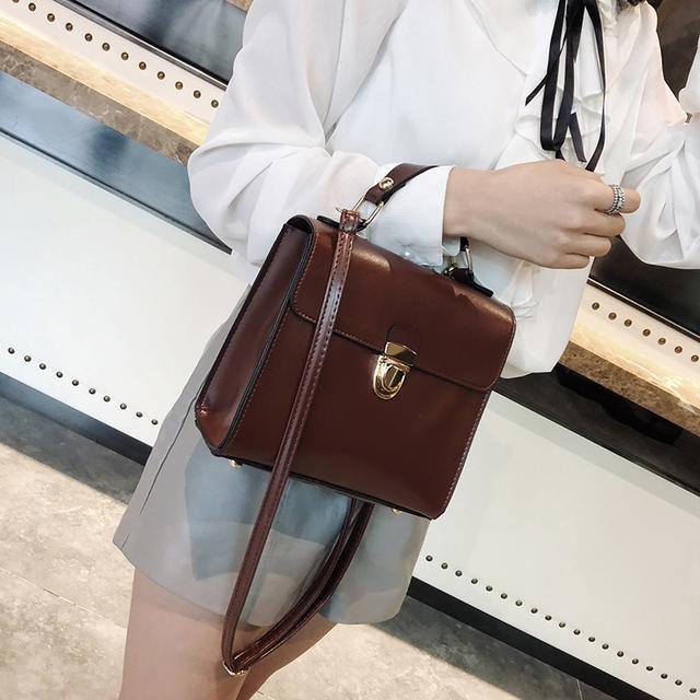 Bags for women handbag designer small square bag new solid color temperament casual Messenger bag