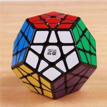 QIYI megaminxeds sihirli küpler stickerless hızlı profesyonel 12 taraf bulmaca cubo eğitici oyuncaklar çocuklar için