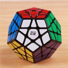 купить QIYI megaminxeds magic cubes stickerless speed professional 12 sides puzzle cubo magico educational toys for children по цене 470.25 рублей