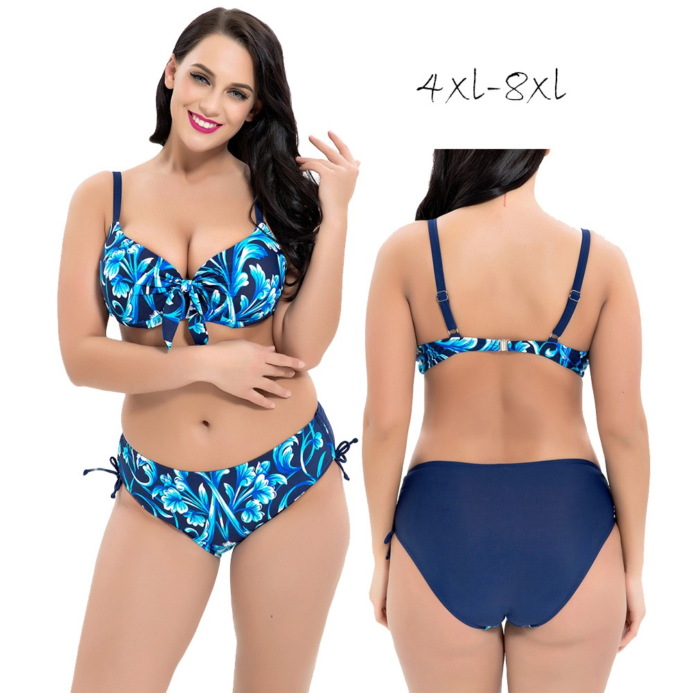 380ad25ede Sexy Large Size Bikinis 2019 Mujer Push Up Underwire Big Size Swimsuit Plus  Size Swim Suits