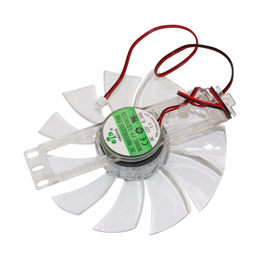 1 Pcs DC 12 V 0.35A Brushless Ventilateur 11 Feuilles En Plastique Transparent Couleur De Poulet Incubateur Accessoires Ventilateur De Refroidissement