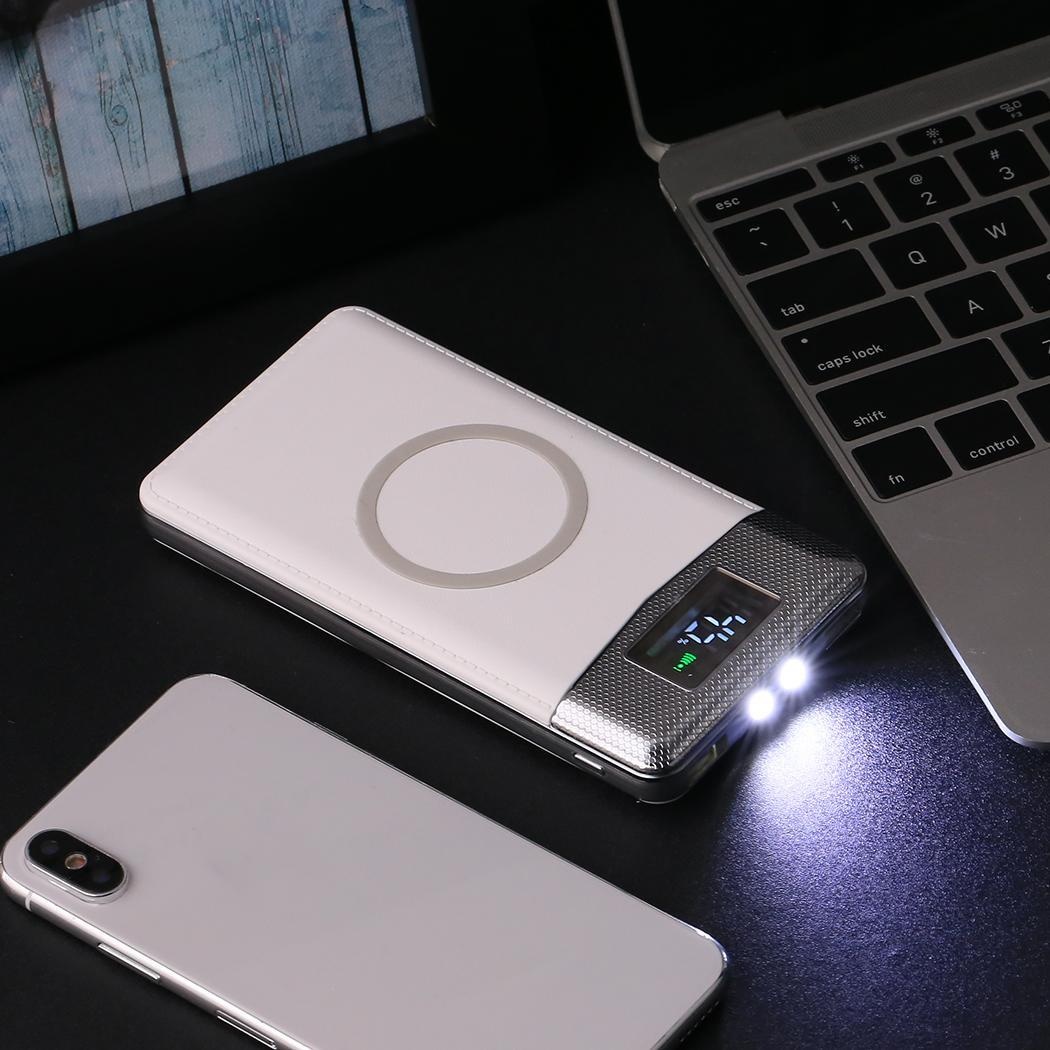 30000mAh Wireless Charger Power Bank Powerbank For iPhone Samsung Huawei Xiaomi Charger Wireless External Battery Pack Bank