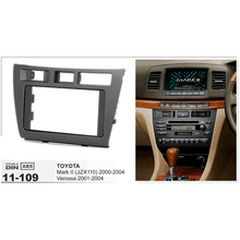 11 109 Car CD DVD Radio Fascia Panel for TOYOTA Mark II JZX110 2000 2004 Verossa