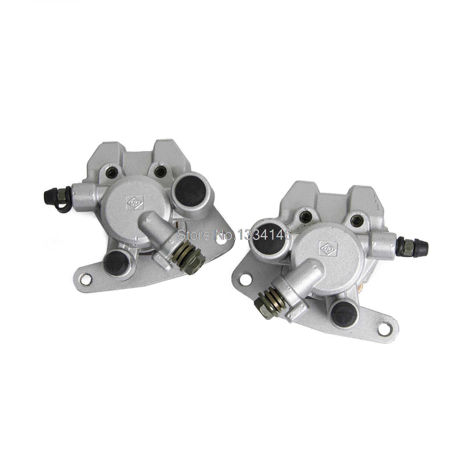 FRONT BRAKE CALIPER SET WITH PADS FOR YAMAHA RAPTOR 660 01-05 YFM660 WITH PADS